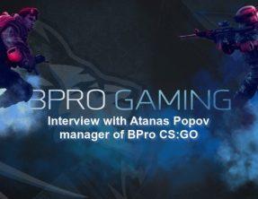 Интервю с Атанас Попов